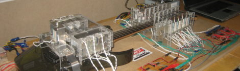 My Robot Guitar Player